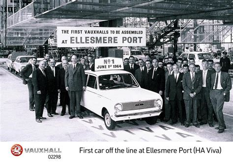 Ellesmere Port Car Auction by Ellesmere Port Celebrates 50 Years Of Production Classic