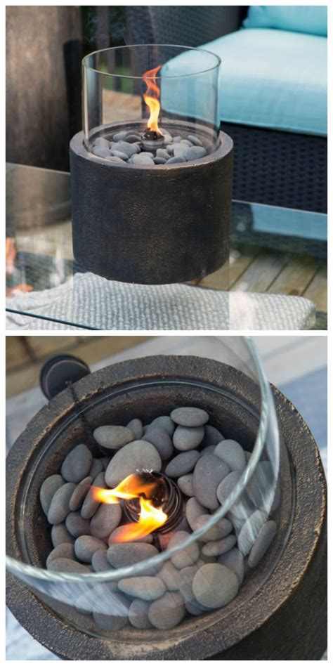diy gas pit table 25 best ideas about tabletop pit on