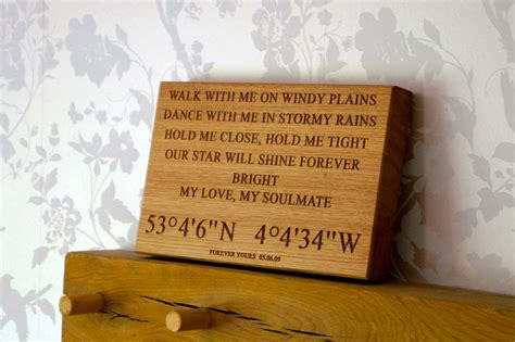 personalised wedding anniversary gifts makemesomethingspecial