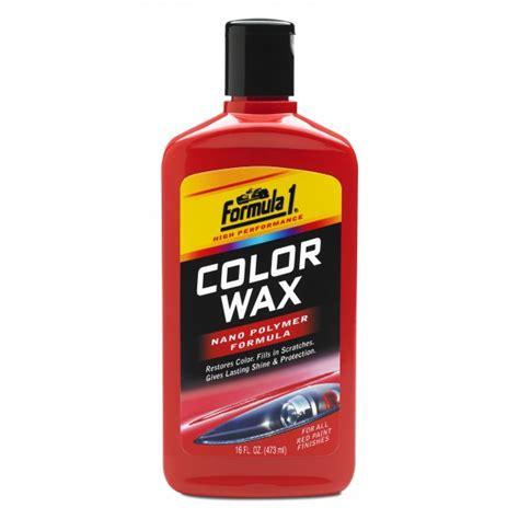 color wax car wax formula 1 auto care products