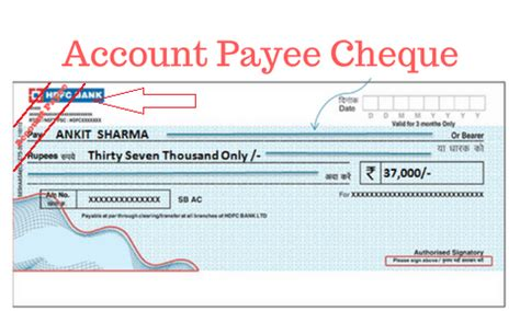 cheque bank account various types of cheques bank exams today