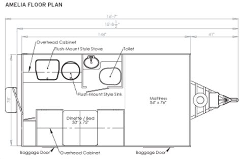 aliner floor plans guide to ultra lightweight travel trailers
