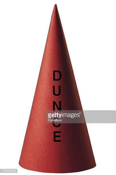 How To Make A Dunce Cap Out Of Paper - dunce s hat stock photos and pictures getty images