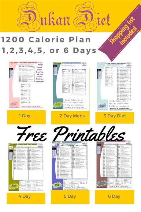 weight loss 1200 calories printable 1200 calorie dukan diet for weight loss with