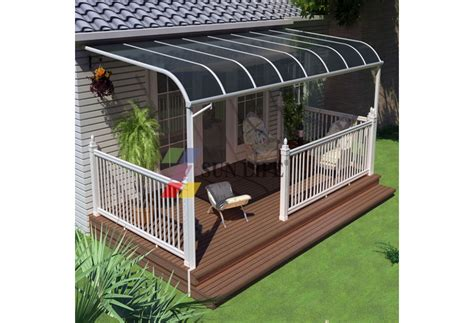 Canopy With Awning by Aluminium Patio Sun Awning Shade Balcony Canopy