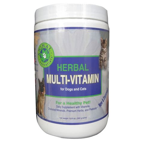 herbal multistamin animal essentials herbal multi vitamin and cat