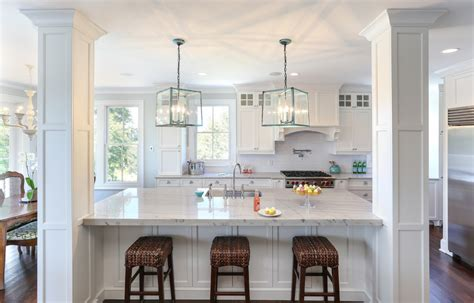 kitchen remodel turned breakfast nook lighting off center white macaubas quartzite kitchen traditional with ceiling