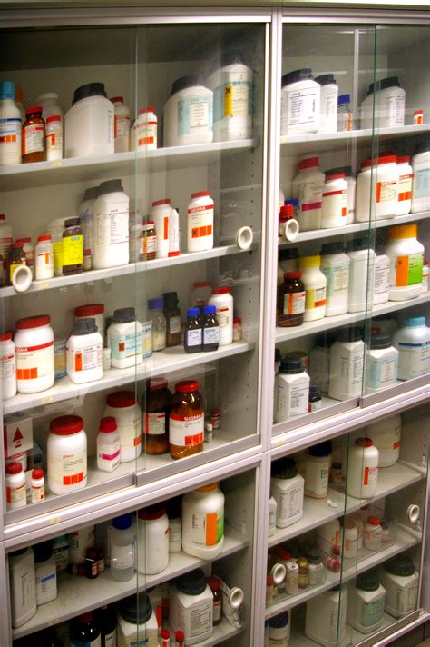 Chemical Cabinet File Chemicals Cabinet In Mpi Cbg Jpg Wikimedia Commons