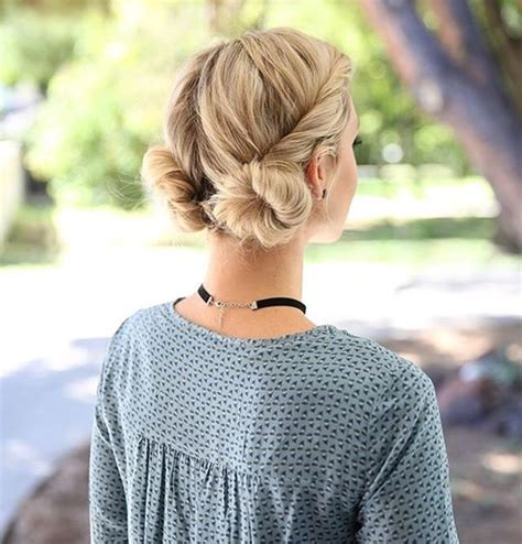 Cute Hairstyles In A Bun | 40 cute hairstyles for teen girls