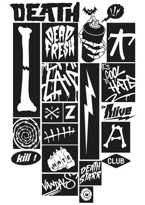 Death Starr Club The Dead Fresh Collection on Behance