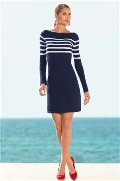 Pakaian Letty Hoodie Stripy White Navy Dress boston proper navy white striped sweater dress wish i was wearing striped