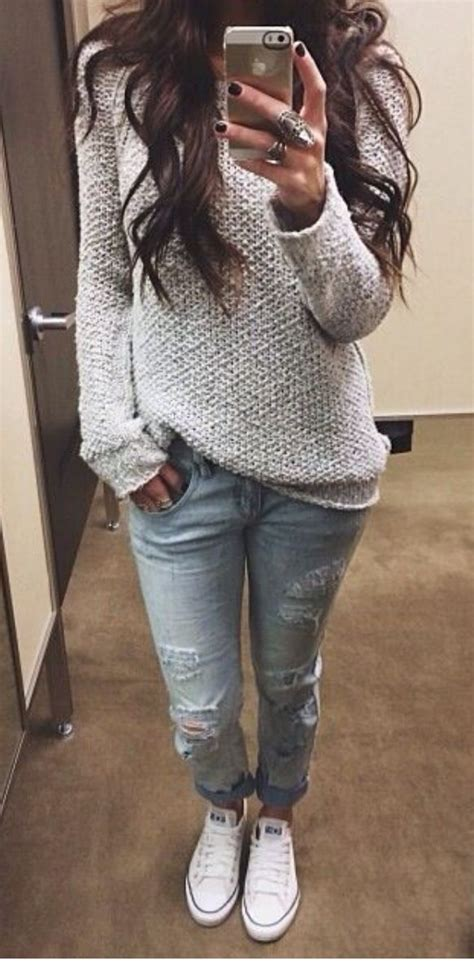 jean outfits on pinterest jeans sweater super cute clothing pinterest