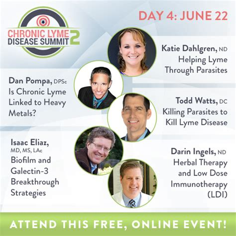 Detoxing Heavy Metals And Lyme by Day 4 Lyme Summit Speakers Ldi Heavy Metals Parasites