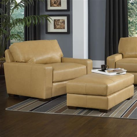 smith brothers chairs and ottoman contemporary chair and a half and ottoman set by smith