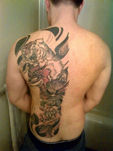 mens back tattoo cool wings for mens back inofashionstyle