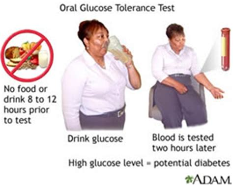 glucose challenge test preparation diabetes diagnosis and monitoring