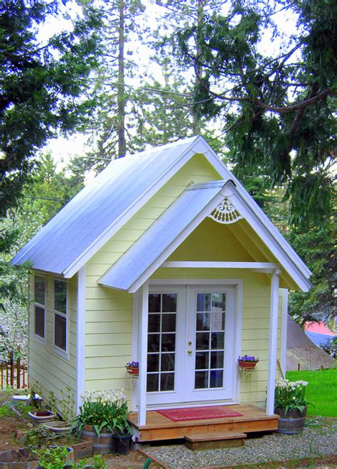 The Cottage Studio by Build Your Own Crafting Cottage Or Garden Shed Flower