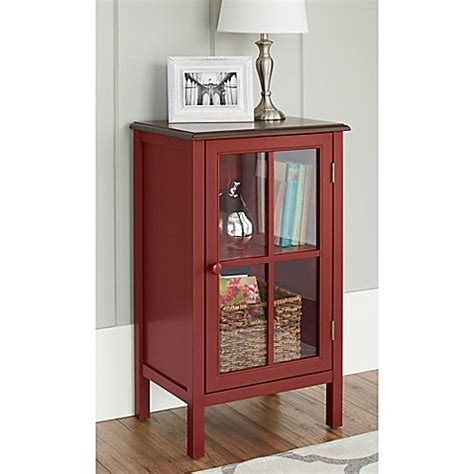 chatham house baldwin wine cabinet chatham house baldwin single door glass cabinet in red