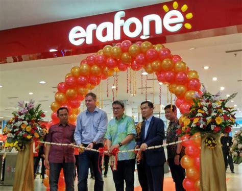 erafone resmikan megastore terbesar  indonesia