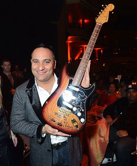 comedian russellpeters bought  stevie ray vaughan signature guitar  people