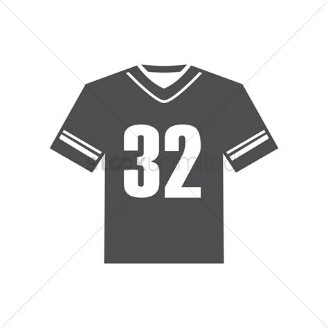 football jersey design vector american football jersey vector image 1979760