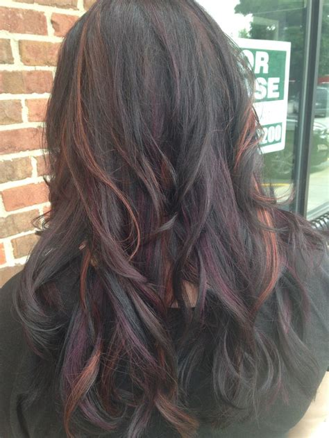 how to highlight mahogany hair 17 best images about hair care styles on pinterest a