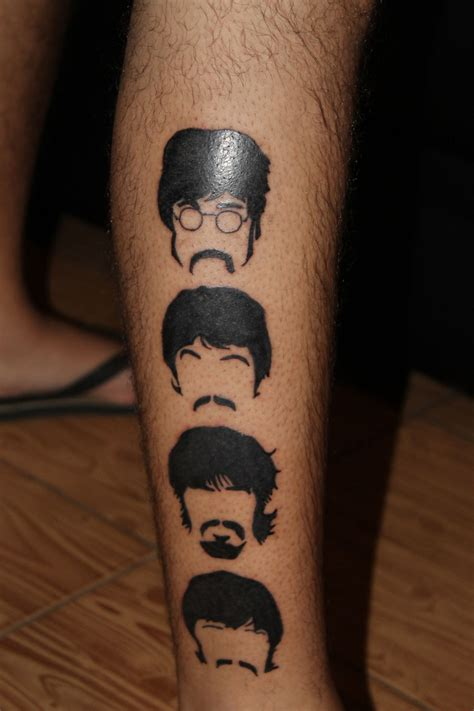 paul george tattoos paul george ringo beatles beatles