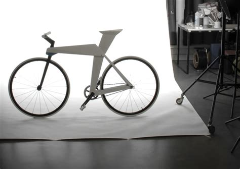 Origami Bicycle - origami bike yanko design