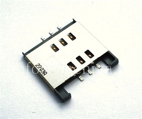 Conector Sim Blackberry 9800 connector for sim cards sim card connector t3 for