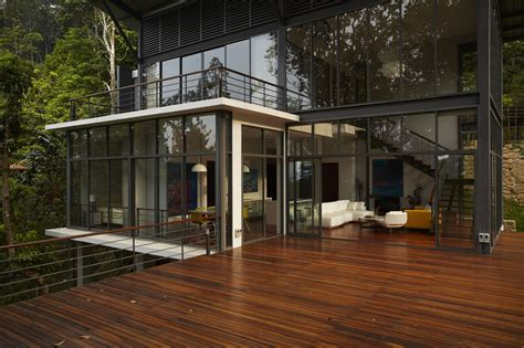 Architectural House The Deck House Choo Gim Wah Architect Archdaily