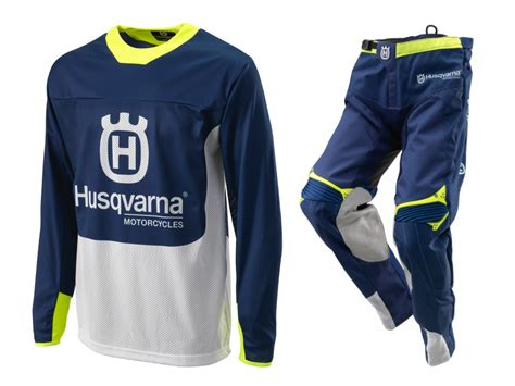 husqvarna motocross gear aomc mx 2017 husqvarna gotland gear set blue