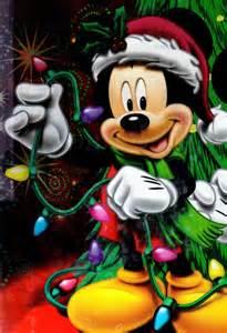 mickey mouse fixing christmas lights disney stuff