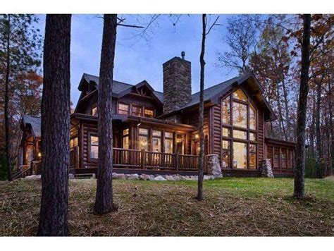 Log Cabin Crandon Wi by Yahoo Homes Of The Week Log Cabins On The Market Across