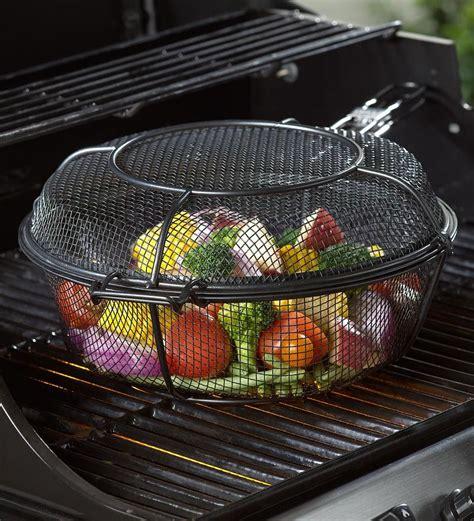 grill basket   skillet deep basket