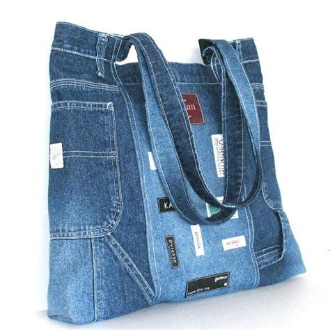 pattern for jeans bag bag denim pattern tote convertible crossbody bag