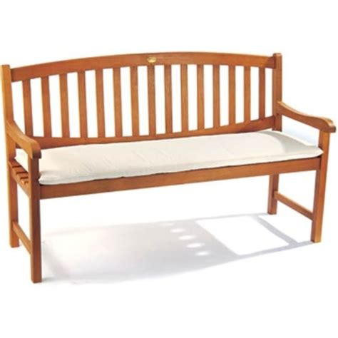 3 seater bench cushion garden 3 seater cushion natural the garden factory