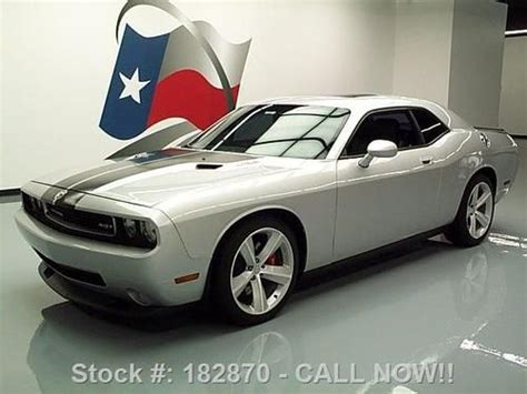 how to fix cars 2008 dodge challenger navigation system sell used 2008 dodge challenger srt 8 first ed hemi sunroof nav texas direct auto in stafford