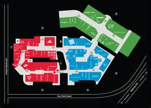 outlet map folsom premium outlets outlet mall in california