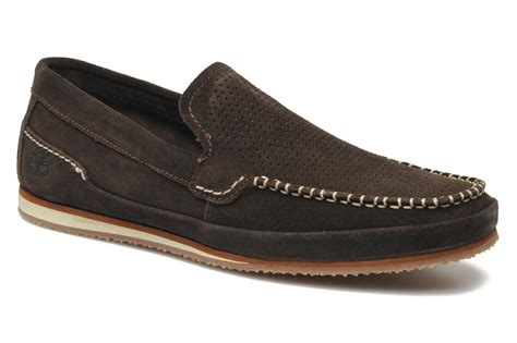 timberland loafers timberland valley loafer loafers in brown at sarenza