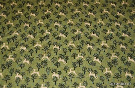 elk pattern fabric mid century scandinavian modern