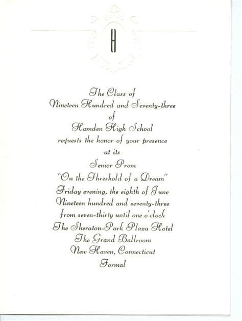 high school graduation invitation letter high school graduation invitation letter graduation
