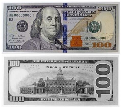 free printable fake money front and back lisovzmesy 100 dollar bill template