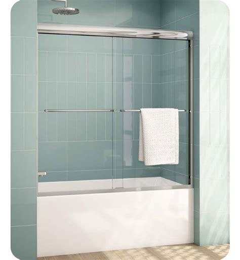 Banyo Shower Doors Fleurco Elt66 Banyo Cordoba Plus Bypass Tub Enclosure 66 Quot Semi Frameless Sliding Doors