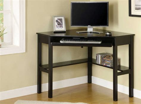 Black Wood Corner Computer Desk Wood Corner Computer Desk Office Furniture