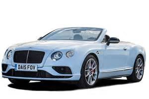 Convertible Bentley Bentley Continental Gt Cabriolet V8 Convertible 2dr Review