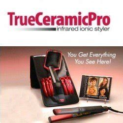 Ionic Hair Styler As Seen On Tv by True Ceramic Pro Infrared Ionic Styler As