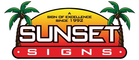 sunset east graphix signs banners graphics wraps in sunset signs sunset signs printing provides