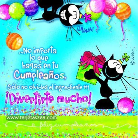 imagenes de cumpleaños para una hermana zea m 225 s de 1000 ideas sobre feliz cumplea 241 os gatos en