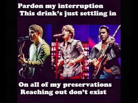 Wedding Bell Jonas Brothers Lyrics by Jonas Brothers Wedding Bells Lyrics On Screen