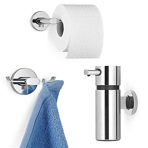 stainless steel bathroom hardware areo stainless steel bathroom hardware collection bed bath beyond